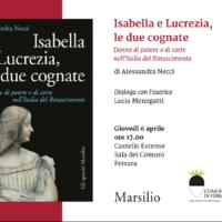 6 Aprile Presentazione Isaella e Lucrezia, le due cognate