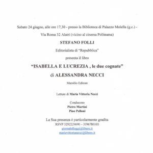 24 Giugno – Teatro Politeama, Alatri