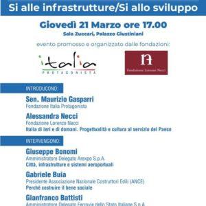 21 Marzo 2019 – Palazzo Giustiniani